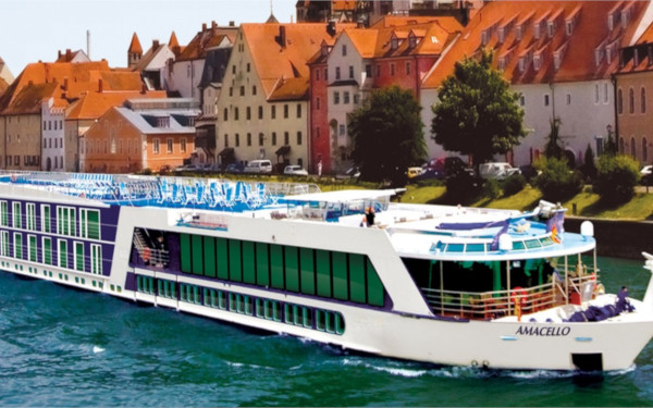 AmaCello River Cruise Ship Tracker – AmaWaterways AmaCello