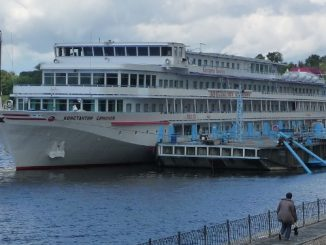 Konstantin Simonov River Cruise Ship Tracker
