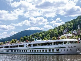 Modigliani River Cruise Ship Tracker – CroisiEurope Modigliani