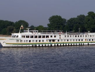 Prinses Christina River Cruise Ship Tracker